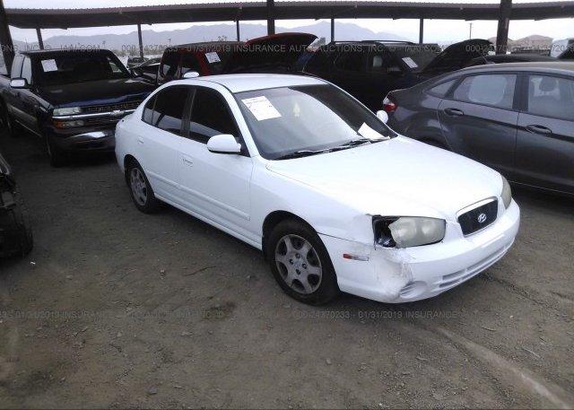 Inventory #162532374 2001 Hyundai ELANTRA