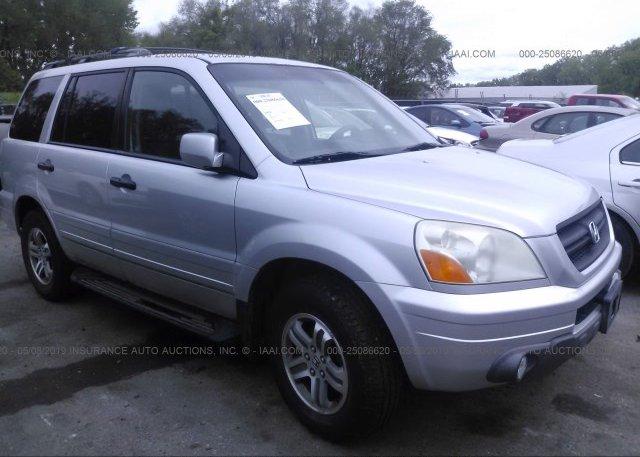 Inventory #446420331 2005 Honda PILOT
