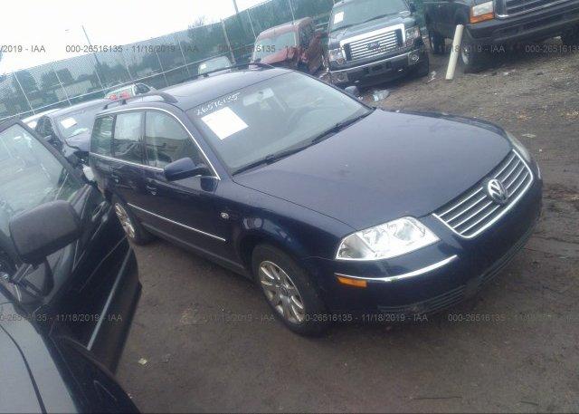 Inventory #364907664 2002 Volkswagen PASSAT