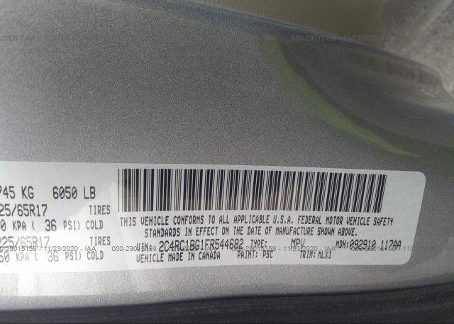2C4RC1BG1FR544682 2015 CHRYSLER TOWN & COUNTRY