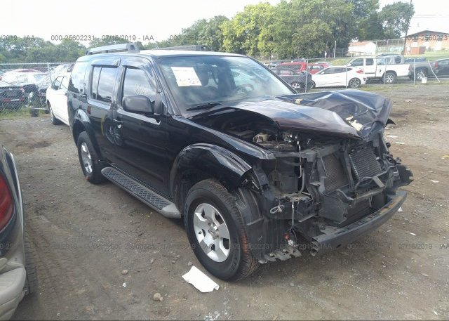 Inventory #699305109 2011 Nissan PATHFINDER