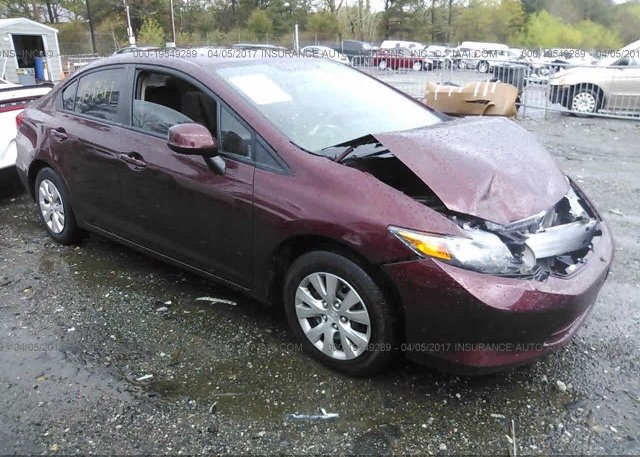 Inventory #618883385 2012 Honda CIVIC