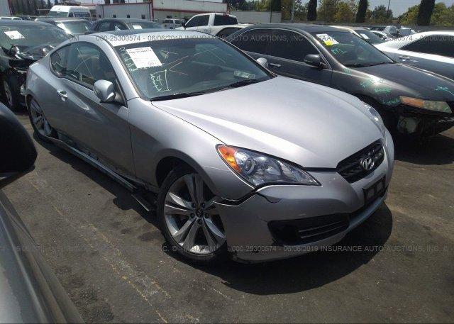 Inventory #229507122 2010 Hyundai GENESIS COUPE