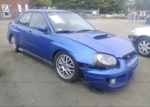 Inventory #641116996 2004 Subaru IMPREZA