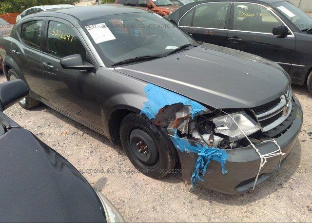 Inventory #555748169 2013 Dodge AVENGER