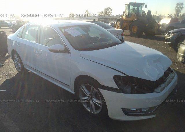 Inventory #242961300 2012 Volkswagen PASSAT