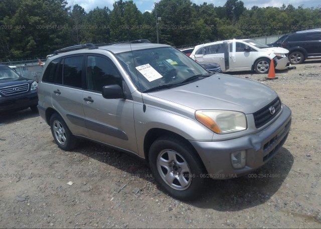Inventory #626917510 2003 Toyota RAV4