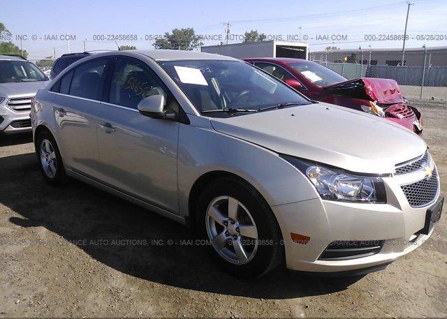 Inventory #438587084 2014 Chevrolet CRUZE