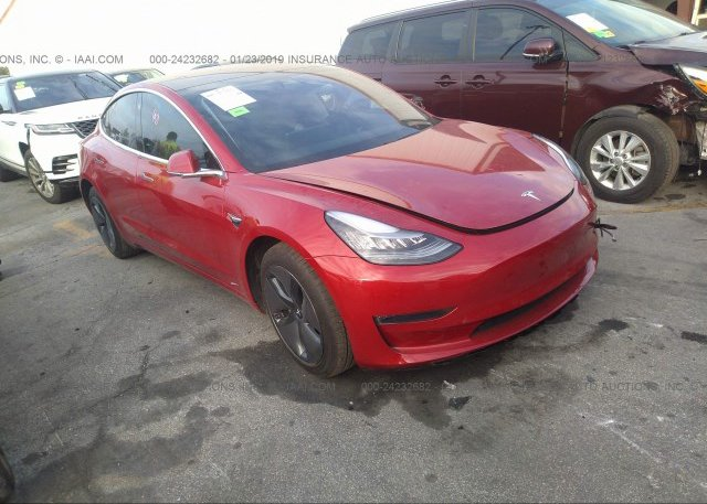 Inventory #550619963 2018 Tesla MODEL 3