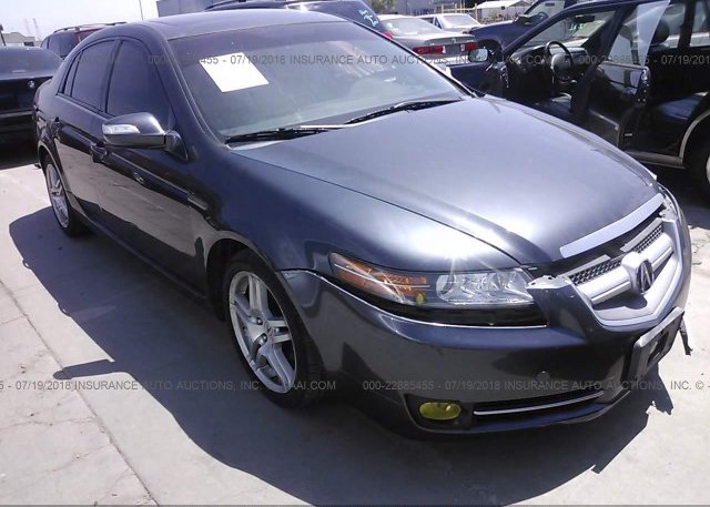 UUAA Salvage Certificate Gray Acura Tl At FREMONT CA - Acura insurance