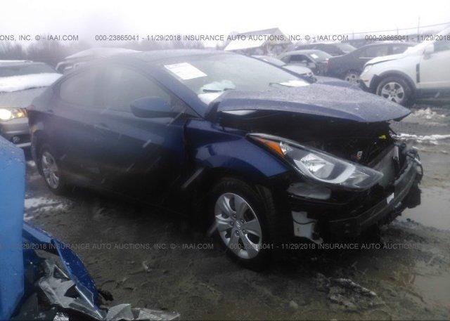Inventory #414915973 2016 Hyundai ELANTRA