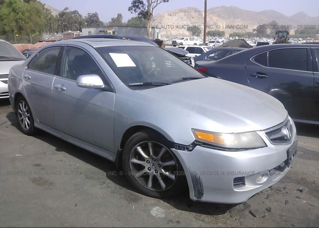 JHCLC Clear Dealer Only Silver Acura Tsx At FONTANA - Acura tsx rims 18