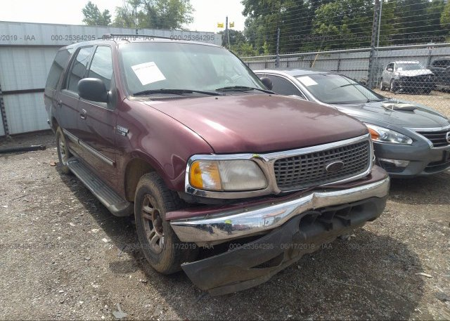 1fmru15l6ylc19054 Salvage Burgundy Ford Expedition At