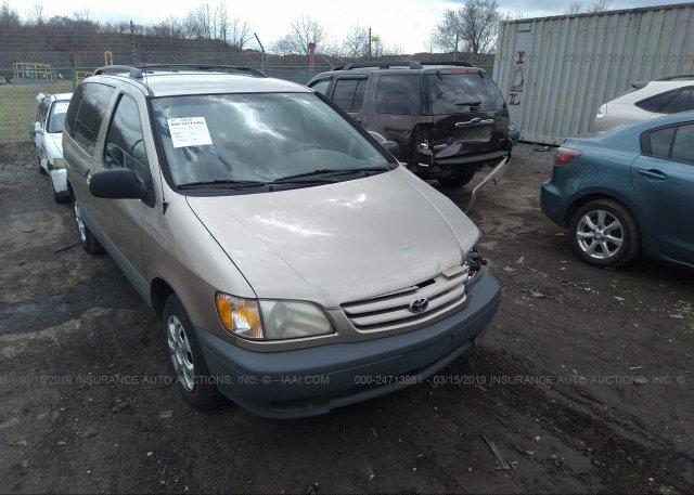 Inventory #239054721 2001 Toyota SIENNA