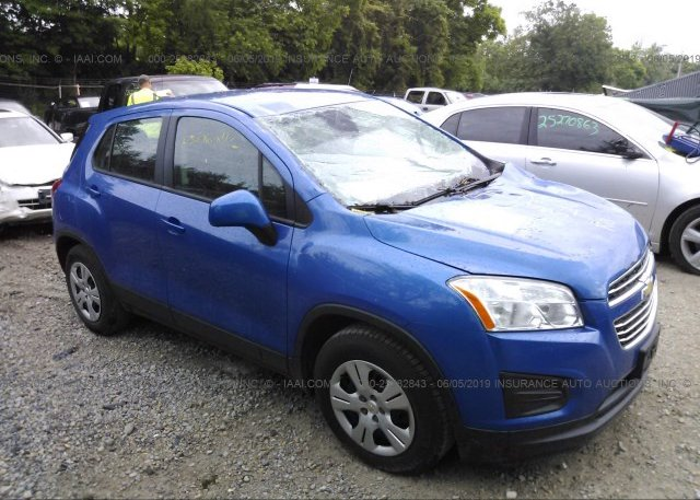 Inventory #973490725 2015 Chevrolet TRAX