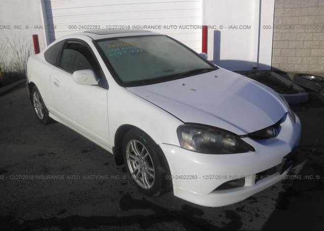 JH4DC54886S018151 Salvage Certificate White Acura Rsx At SAN DIEGO
