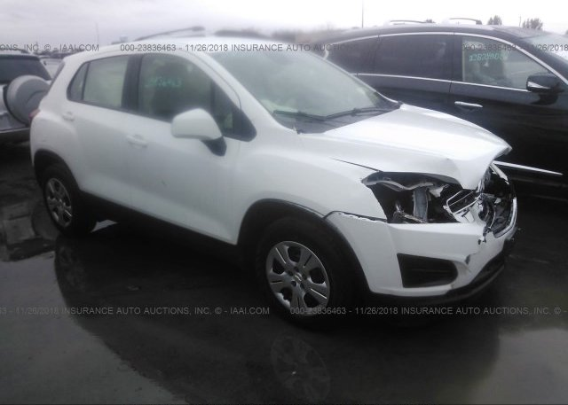 Inventory #489993619 2015 CHEVROLET TRAX