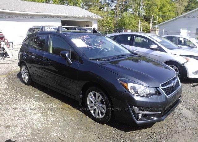 Inventory #204722161 2015 Subaru IMPREZA