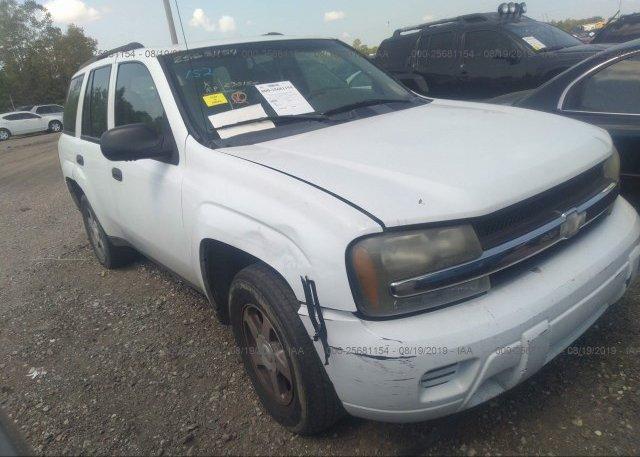 Inventory #787029925 2004 Chevrolet TRAILBLAZER