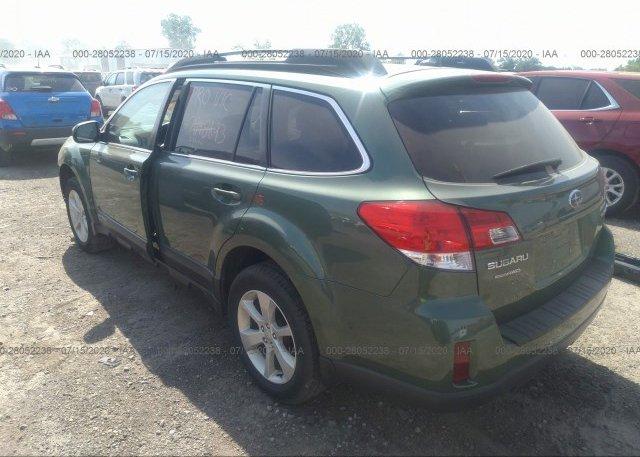 купить 2014 Subaru OUTBACK 4S4BRCDC3E3311296