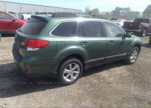 цена в сша 2014 Subaru OUTBACK 4S4BRCDC3E3311296