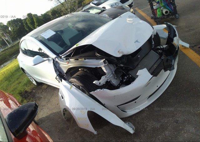 Inventory #236535514 2018 Tesla MODEL 3