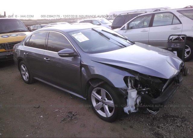 Inventory #644121316 2012 Volkswagen PASSAT