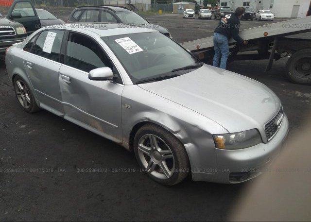WAUPL68E24A231438, Salvage silver Audi S4 at PITTSTON, PA on