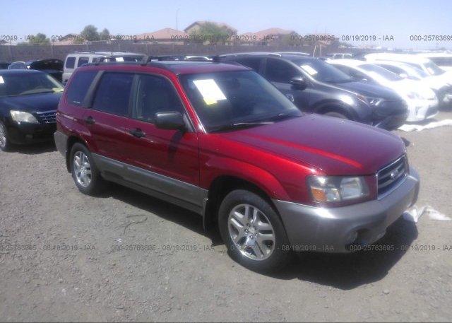 Inventory #170073483 2005 Subaru FORESTER