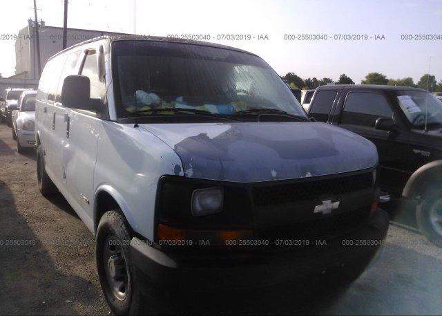Inventory #286551419 2006 Chevrolet EXPRESS G2500