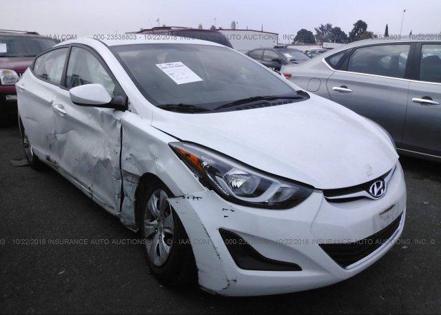 Inventory #948342104 2016 Hyundai ELANTRA