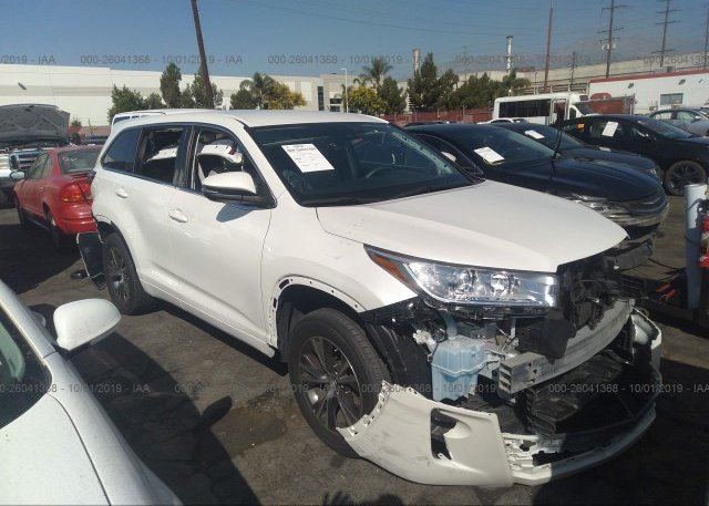 Inventory #507757763 2017 Toyota HIGHLANDER