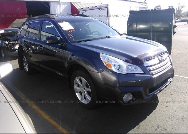 4s4brbcc7d3209221 Salvage Black Subaru Outback At Portland Or On