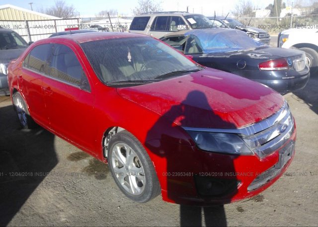 Inventory #848040937 2012 FORD FUSION