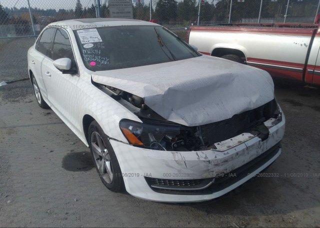 Inventory #286098048 2012 Volkswagen PASSAT