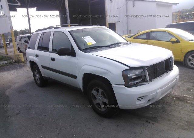 Inventory #796718454 2005 Chevrolet TRAILBLAZER