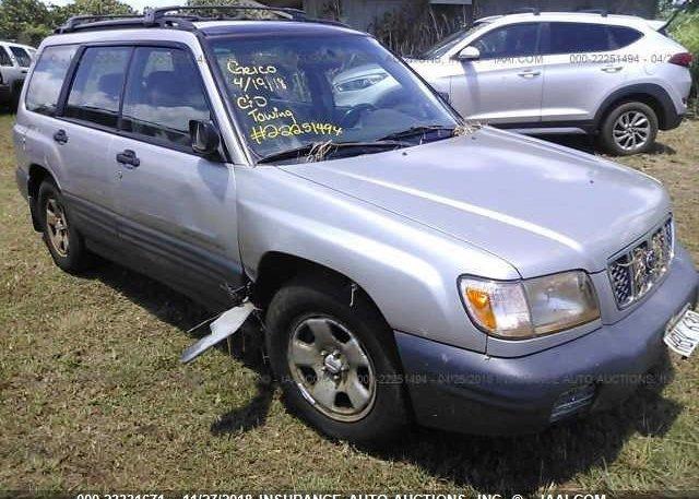 Inventory #649753109 2001 Subaru FORESTER
