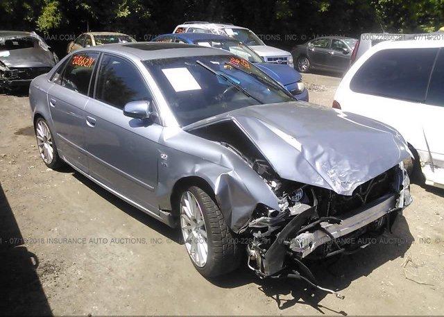 WUAGLEA Salvage Silver Audi S At SAINT PAUL MN On - 2006 audi s4