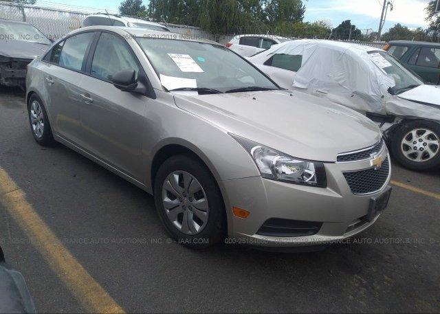 Inventory #939632470 2013 Chevrolet CRUZE
