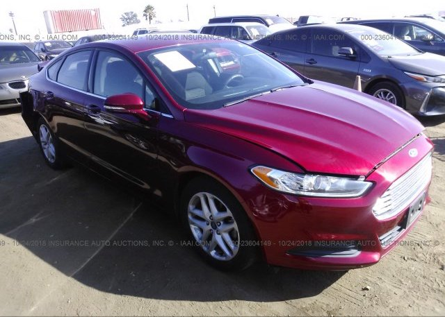 Inventory #664985478 2016 FORD FUSION
