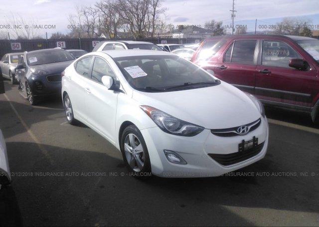 Inventory #942452891 2013 Hyundai ELANTRA