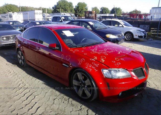 Inventory #847588392 2008 Pontiac G8