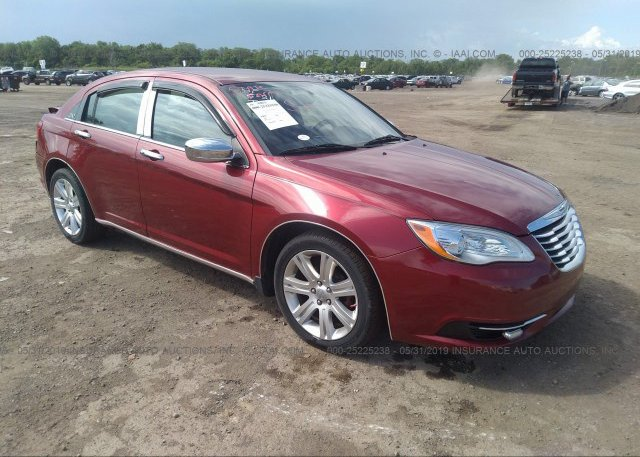 Inventory #935608624 2012 Chrysler 200