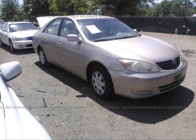 Inventory #311101842 2004 Toyota CAMRY
