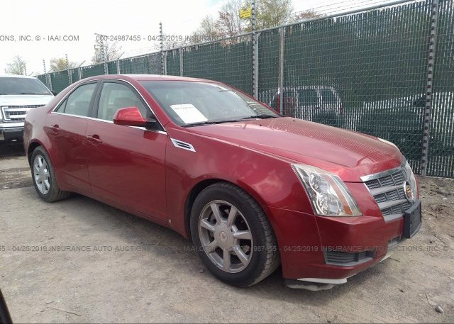 Inventory #933083999 2008 Cadillac CTS