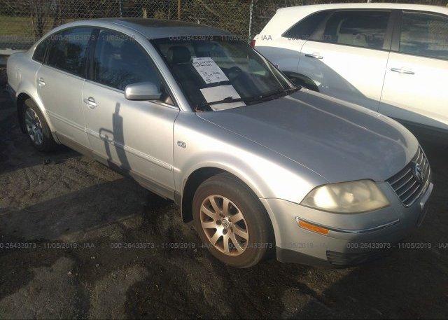 Inventory #123492804 2003 Volkswagen PASSAT