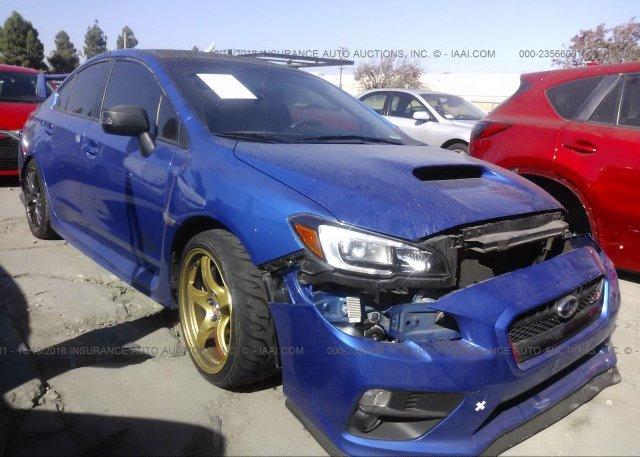 Inventory #439376355 2016 Subaru WRX