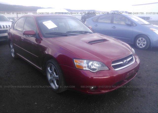 Inventory #376042871 2005 Subaru LEGACY