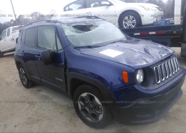 Inventory #191556621 2017 JEEP RENEGADE
