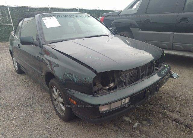Inventory #893794285 1998 Volkswagen CABRIO